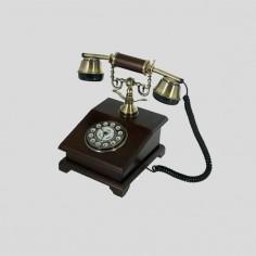 Teléfono decorativo estilo...