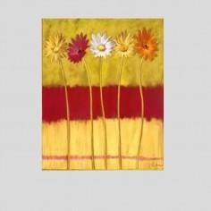 Portallaves flores (25x32cm)
