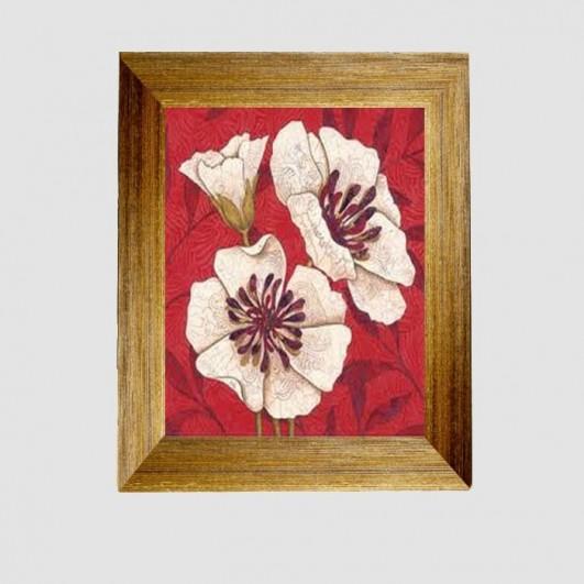 Portallaves marco flores (29x35cm)