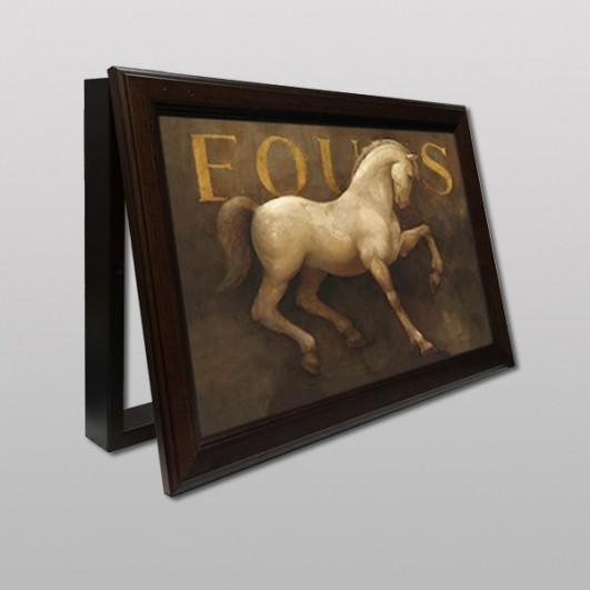 Cubrecontador lamina caballo Fous con...