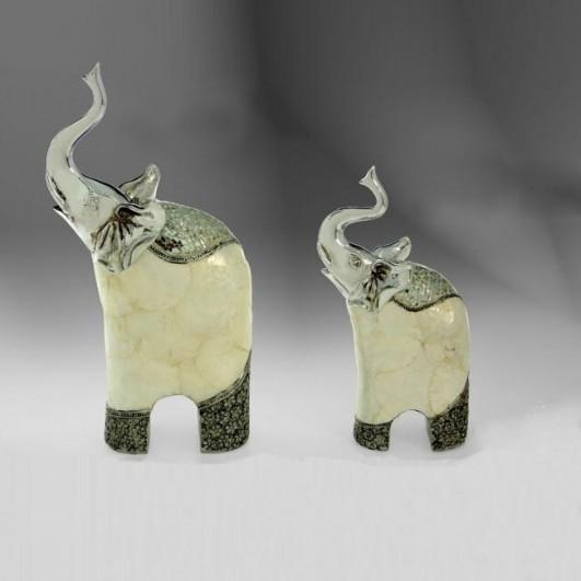 Figura resina elefante