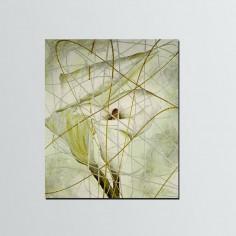 Portallaves flor (25x32cm)