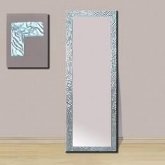 Espejo moldura plata brillo