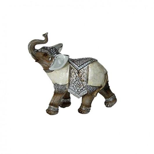 Figura Elefante Resina (27x9,5x24cm)