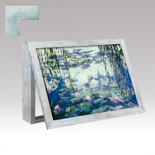 Cubrecontador nenufares de Monet con...