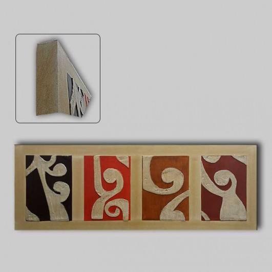 Pintura de artesanía en relieve...