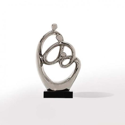 Figura Abstracta Familia Ceramica...