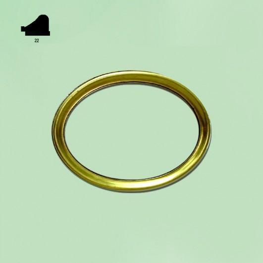 Ovalo pan de oro n251 (varios tamaños)