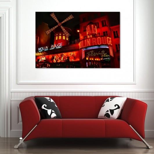 """Cuadro sin marco """"Moulin Rouge"""" en..."""