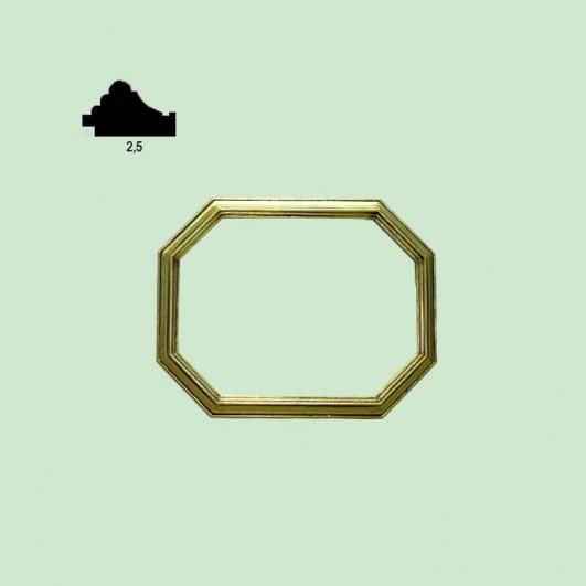 Marco de estilo octogonal (varios...