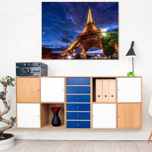 """Cuadro sin marco """"Torre Eiffel..."""