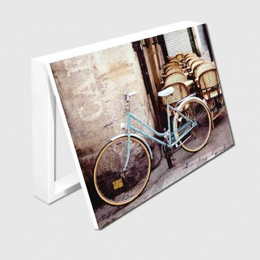 Cubrecontador bicicleta en el café...