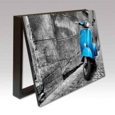 Cubrecontador Vespa Azul en...