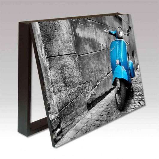 Cubrecontador imagen Vespa Azul en...