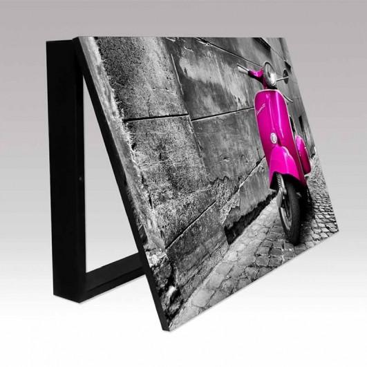 Cubrecontador fotografía Vespa rosa...