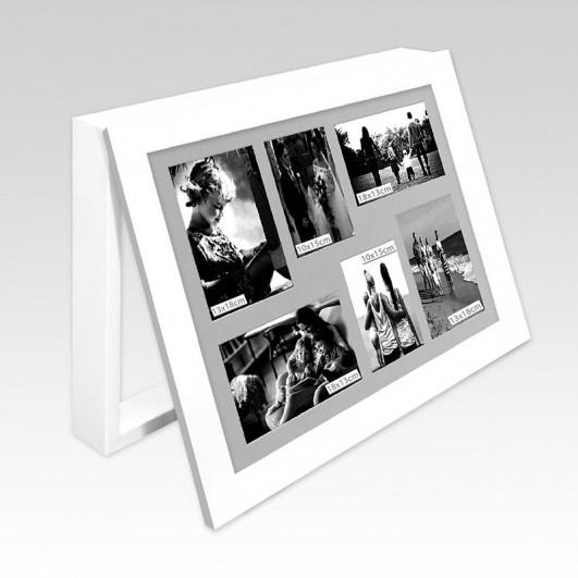 Cubrecontador marco blanco portafotos...