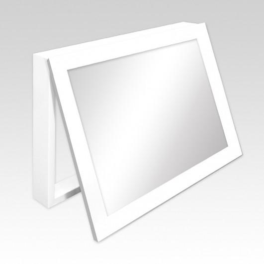 Cubrecontador marco blanco y espejo...