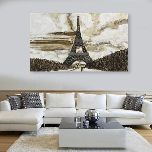 Cuadro de pintura obra original Torre...