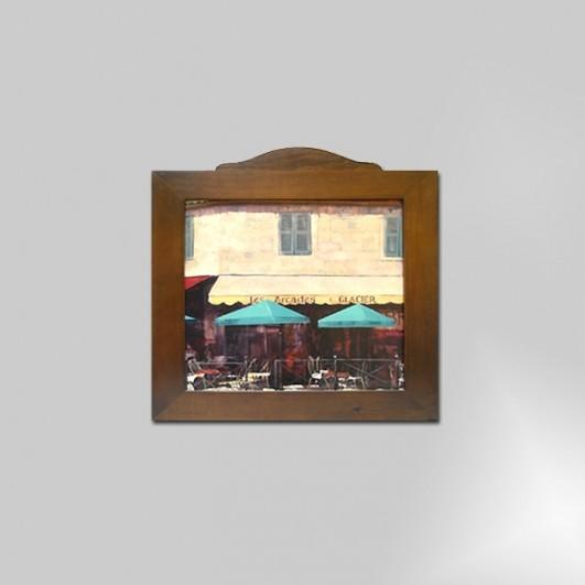 Rústico en madera nº1(50x50)