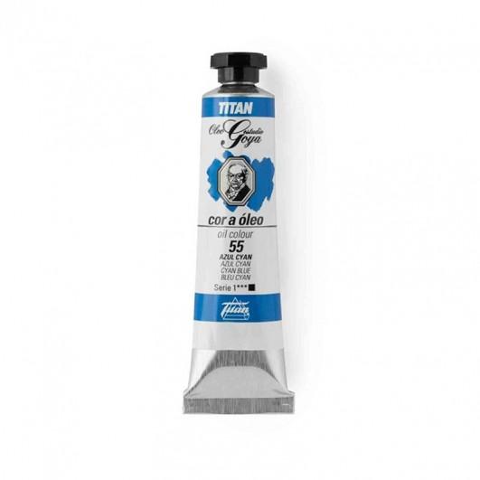 Pintura óleo extrafino TITAN azul...