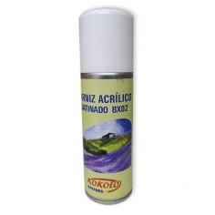 Barniz acrílico spray...