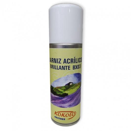 Barniz acrílico spray brillante...