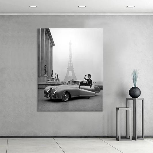 """Cuadro sin marco """"1947 Eiffel Tower""""..."""