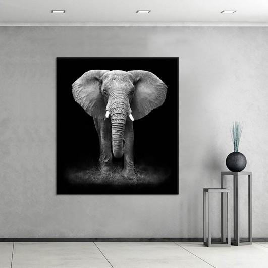 """Cuadro sin marco """"Elephant"""" en lienzo..."""
