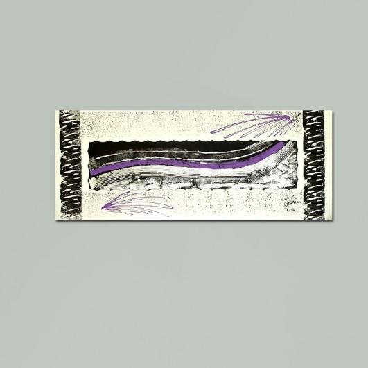Pintura abstracta  (145x50cm)