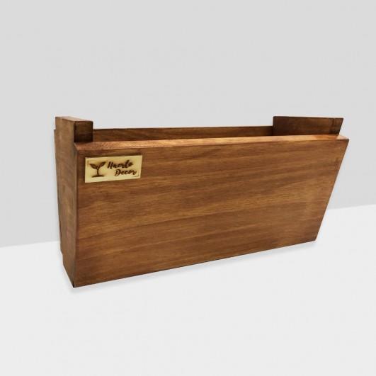 Jardinera madera marrón, modelo...
