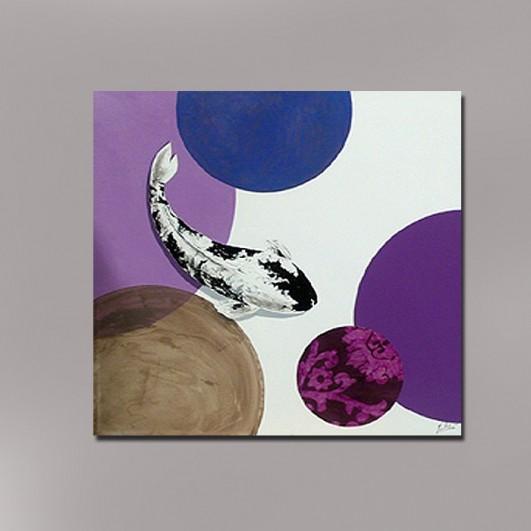 Pintura moderna de artesania (120x120cm)