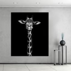 "Cuadro sin marco ""Giraffe""..."
