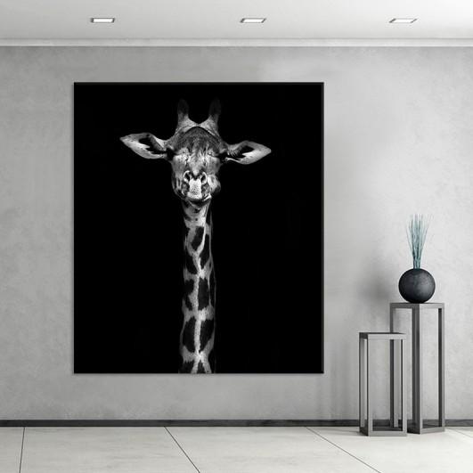 """Cuadro sin marco """"Giraffe"""" en lienzo..."""