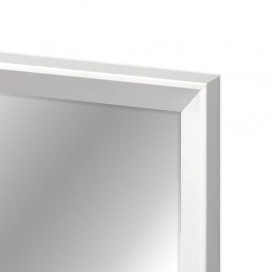 Cuadro con espejo, marco lacado...