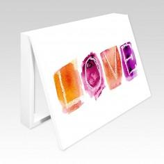 Cubrecontador letras LOVE...