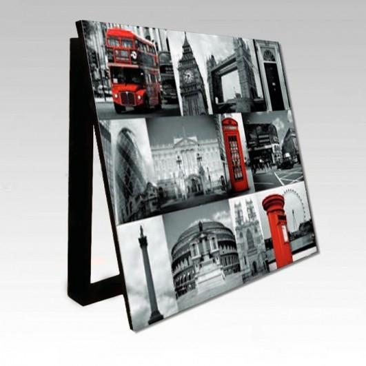 Cubrecontador imagen Collage Londres...