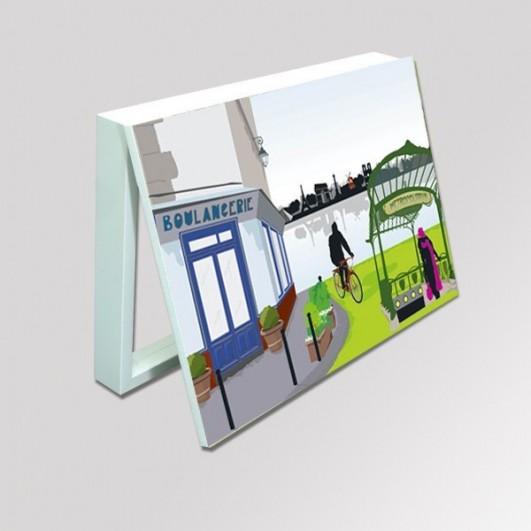 Cubrecontador imagen abstracta Paris...