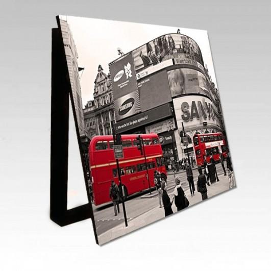 Cubrecontador imagen retro bus rojo...