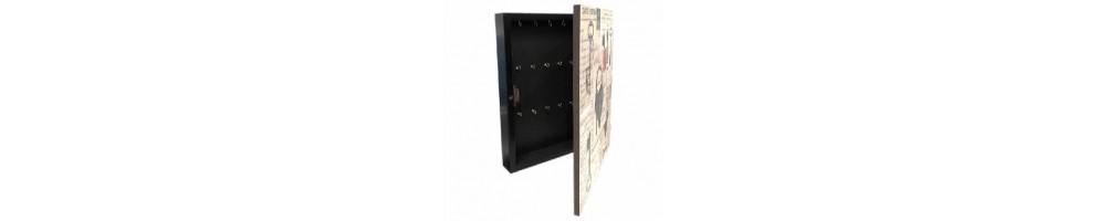 Cuadro guarda llaves o portallaves decorativos para el hogar |A medida