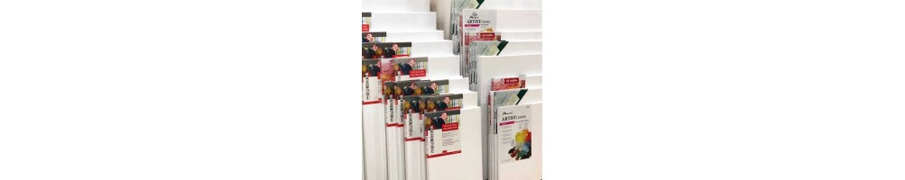 Lienzos para pintar (Algodón sobre bastidor madera) | Manualidades